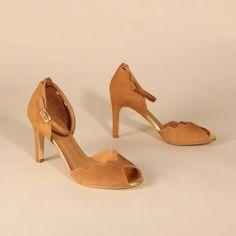 RIONA Suede Tan | Emma Go My Emma, Long Toes, Your Shoes, Spring Summer, Heels, Shoes Heels, Heel, High Heel, Platform