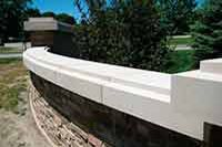 Exterior Architectural Cast stone and Precast,Toronto,Ontario, Coping Outdoor Sofa, Outdoor Furniture, Outdoor Decor, Ontario, Toronto, Precast Concrete, Front Door Design, Cast Stone, Petra
