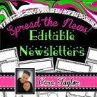 This product will make your life so much easier each week or month depending on how often you send home a class newsletter!  Included in this produ...