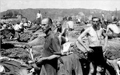 Was uns über die Behandlung in den Rheinwiesenlagern verschwiegen wird ! Fluchtversuche haben sofortige Erschießung zur Folge
