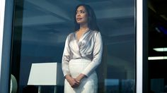 """Jessica Pearson (Gina Torres) in season 5, episode 7 of Suits, """"Hitting Home"""""""