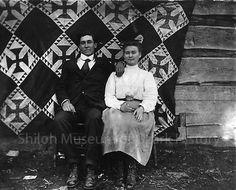 Oscar Roach and Evie Thomas, circa 1905