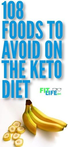 Knowing what foods to avoid on the ketogenic diet is critical to weight loss success. Check out these 108 foods that will keep you from burning fat. #keto #ketogenicdiet #diettips #lowcarb