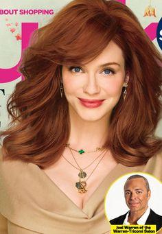 Love Christina's hair colour.