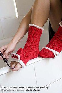 Chaussettes_petit_chaperon_rouge_small2 Knit Socks, Knitting Socks, Leg Warmers, High Socks, Charts, Diy And Crafts, Ann, Legs, Create