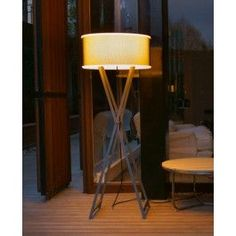 The Cala 140 Outdoor Floor Lamp by Marset was designed by Joan Gaspar in Composed of an Iroko wood or painted metal base available with a rotary moulded polyethylene shade in either brown or white is enclosed in a zipped Textilene sleeve whi. Mason Jar Light Fixture, Mason Jar Lighting, Sconce Lighting, Outdoor Floor Lamps, Outdoor Flooring, Outdoor Lighting, Indoor Outdoor, Outdoor Lounge, Solar Fairy Lights