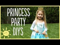 Adorable Princess Party DIY Projects ~ DIY Craft Project