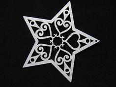 laser cut star
