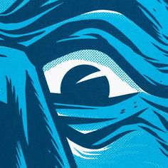 Detail shot of the 3/0 screen print poster designed by @davequiggle for @galleries1988 and printed on @frenchpaperco Whitewash.  Check out our bio link to see where you can purchase this see more pics and learn more about the print process and client.  #screenprint #bluevelvet #davidlynch #nowitsdark by mamassauce