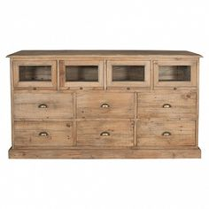 Storage unit with 6 deep drawers & 4 cubby shelves - Trade Secret