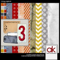 Alison Kimball Designs - AWESOME digital scrapbook kits that are all free!