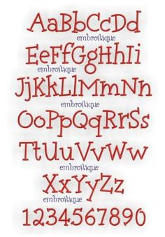 Monogram Sets - Arizona Monogram Set at Embroitique  HAVE