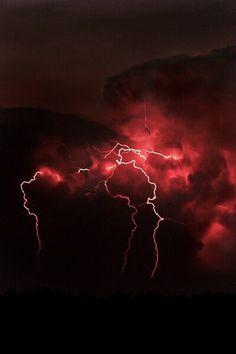 Space and astronomy # lightning red lightning, lightning nails, lightning q … – girl power tattoo