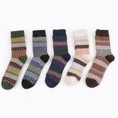 Georgia State Flag Printed Crew Socks Warm Over Boots Stocking Trendy Warm Sports Socks