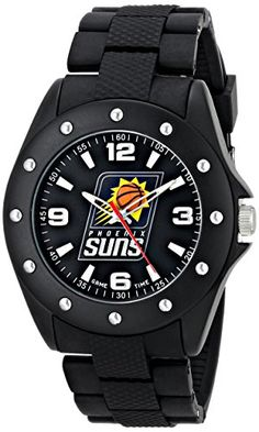 Men's Wrist Watches - Game Time Mens NBA Breakaway Triple Black Watch  Phoenix Suns *** To view further for this item, visit the image link.