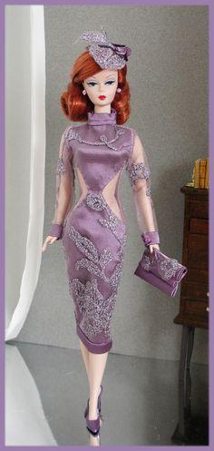 "OOAK Fashions for Silkstone 12"" Fashion Royalty Vintage Barbie with Zipper | eBay"