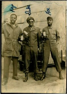African-American soldiers during WWII