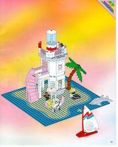 Paradisa - Dolphin Point [Lego 6414]