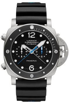 Panerai Luminor Submersible 1950 Black Dial Automatic Men's Watch PAM00615