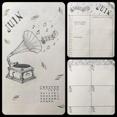 Juin - Bullet journal
