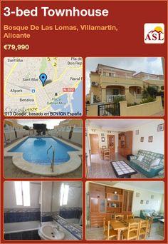 3-bed Townhouse in Bosque De Las Lomas, Villamartin, Alicante ►€79,990 #PropertyForSaleInSpain