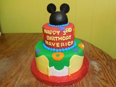 Strange 29 Best Micky Mouse Cakes Images In 2020 Sugar Angel Mouse Cake Funny Birthday Cards Online Amentibdeldamsfinfo