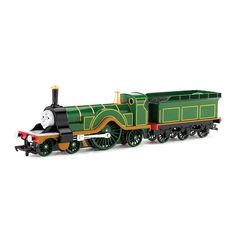Bachmann Trains Thomas and Friends EMILY Locomotive with Moving Eyes. Build your Thomas and friends collection one friend at a time. Compatible with Bachmann HO Scale E-Z Track and other popular brand