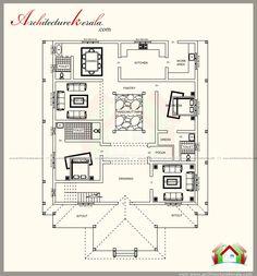 Kerala Home Designs Floor Plan E A on