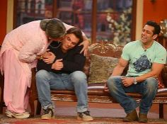 #Salman_Khan_on_Comedy_Nights Get ready to watch superb episode of Comedy Nights with Kapil on this Staurday with salman Khan..