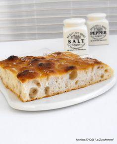 pane e pizza: Focaccia con levadura líquida