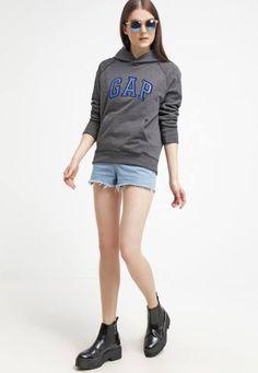 Gap Jersey Con Capucha Dark Grey jerseis y sudaderas Grey Gap Jersey Con Capucha Dark Noe.Moda