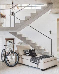 Бетонный дом в Подмосковье, 250 м²