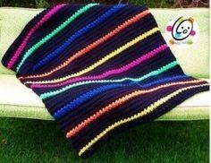 Free Lap Afghan Crochet Blanket - Snappy Tots