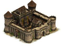 Medieval Castle Concept Art