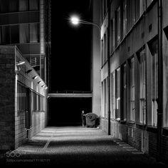 Night cleaning woman by RadekStandera