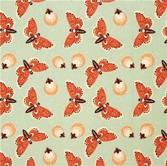 turquoise firefly animal organic fabric birch Fort Firefly 2