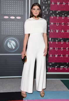 How to Wear It: Cape Dress - Hailee Steinfeld