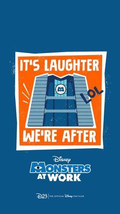 Fondo de pantalla de Monsters at Work / Disney Plus Wallpaper / Pixar