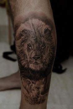 lion tattoo :)