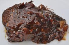Slow Cooker Moose Roast Recipe Allrecipes Com - I Had A Moose Roast Sitting In Moose Recipes, Wild Game Recipes, Venison Recipes, Slow Cooker Recipes, Crockpot Recipes, Cooking Recipes, Yummy Recipes, Dinner Recipes, Recipes
