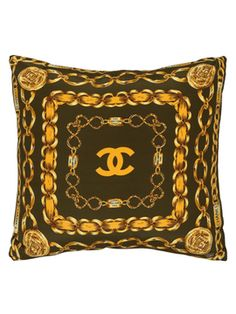 Chanel Scarf Pillow