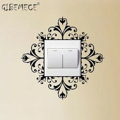 Cheap stickers skateboard, Buy Quality sticker making directly from China accessories punk Suppliers: Light Switch Wall Art Decal Stickers Modern Home Decoration Accessories Simple Wall Paintings, Creative Wall Painting, Creative Wall Decor, Wall Painting Decor, Creative Design, Cheap Wall Stickers, Wall Decals, Wall Art, Wall Drawing