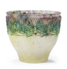 Francois-Emile Décorchemont (1880-1971), Pâte de verre, Bowl.