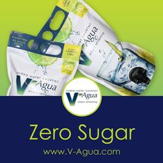 V-Agua is zero sugar.  #vodka #vodkawater #vodkacocktail #vodkadrink #vodkapouch