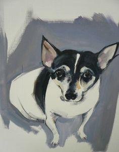 Love animal art. Especially dogs.