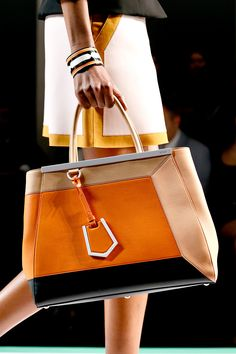 Need this Spring 2013 Fendi bag made up of all my favorite colors!