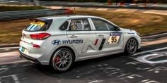 The first jotas-hetch of Hyundai will participate in a race on the Nurnburgring