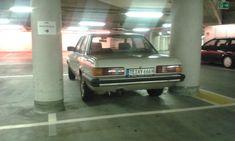 Ja, parken kann ich! War gar nicht so einfach, einen geigneten Parkplatz für meinen #FordGranada zu finden... In Osnabrück bin ich fündig geworden, meine Erna habe ich schon in Münster rausgelassen. #Parkhaus #Münster #Osnabrück #Parkhaus