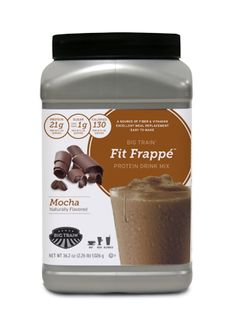 I loved Nutrisystem's Coffee flavored protein mix...this would be a great replacement!