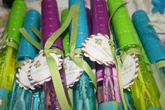 any tots: Free Party Printable for Under the Sea: Little Mermaid Party